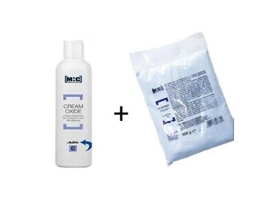 M:c Blondierung Blondierpulver 500g + MC Cremeoxyd Oxydant 1000 ml,3%,6%,9%,12%