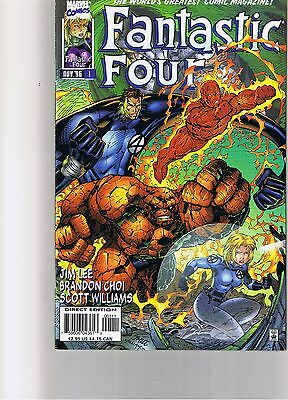 Fantastic Four, Volume 2, #1 – #13, That's all 13 issues from 1996/7.