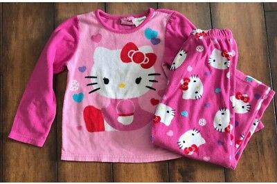 Hello Kitty Pajamas Girl Size 5t