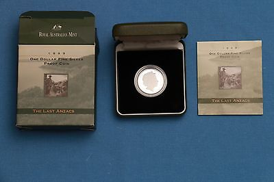 1999 Australian Silver Proof 1 Coin Majestic Images 163