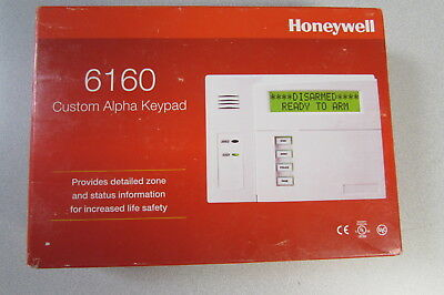 Honeywell 6160 Custom Alpha Keypad Vista Alarm 60 day returns Fast Free Ship