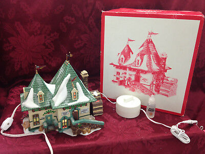 Department 56 North Pole Series Elsie's Gingerbread 56398 Christmas Magic Smoke