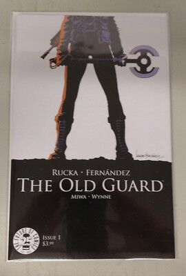 The Old Guard #1 (2017) Main Cover First Print Image Comics