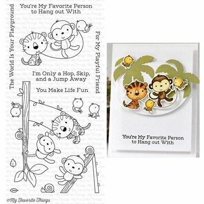 MFT My Favorite Things - Clear Stamps - Jungle Gym