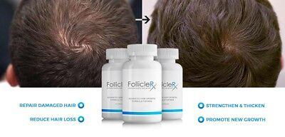 FOLLICLERX  Promote Healthy Hair Growth-Follicle RX Advanced Hair Growth Formula