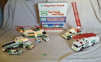Vintage Hess Toy Collectibles-Lot Of 4 Brand New In The Box--Pristine Condition!