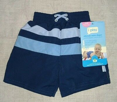 iplay upf 50+ small 3-6 months boys cloth reusable swim diaper trunks shorts