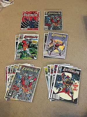 Deathlok Comic Lot (25 Marvel Comics)-  Incl 5 different #1 issues