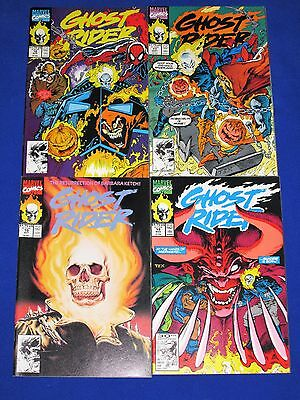 Lot of 4 GHOST RIDER Issues 16 - 19 [Marvel 1991] VG/NM Or Better!