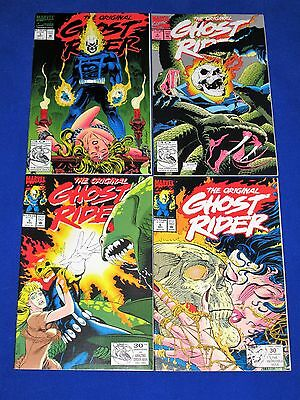 Lot of 4 The Original GHOST RIDER Issues 3 - 6 [Marvel 1992] VG/NM Or Better!