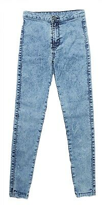 New Stretch Girls Bleach Wash Jegging Light Weight Denim Age From 9 to 15