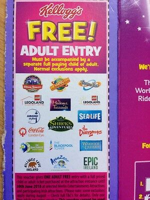 Free Ticket 2 For 1 At Madame Tussaud's London Eye Warwick Castle Chessington