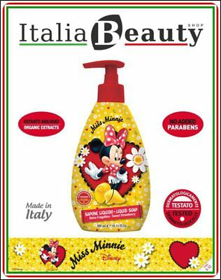 Naturaverde kids Disney© Miss Minnie sapone liquido - dolce fragolina