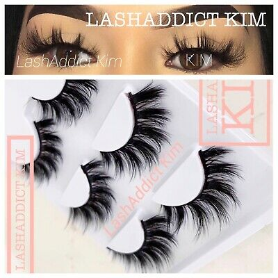 a0e02d47d6c 💕TOP Lashes 3 Pairs 3D Mink Fur lashes Or 5 pairs False Eyelashes US SELLER
