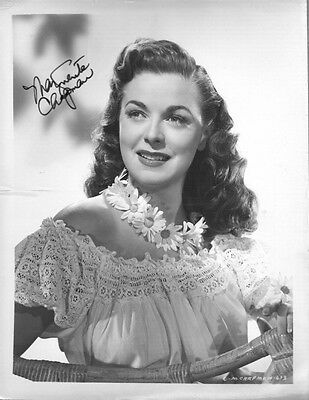 Marguerite Chapman Actress Sci-fi Actress In Flight To Mars Signed Card Autographs-original