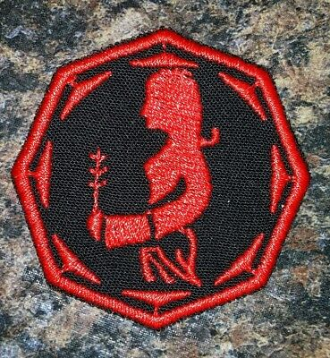 Gemini zodiac motorcycle biker embroidered vest patch iron on custom made New