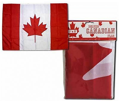 Giant Huge Canada Patriotic Flag 3x5 feet With Fade resistance New Free Shipping