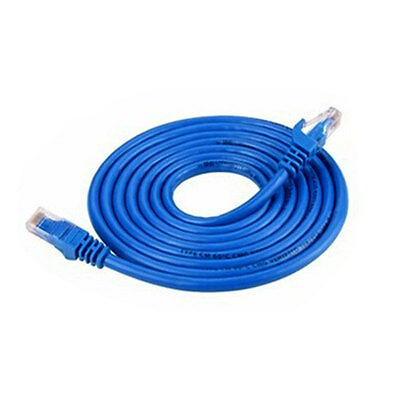 RJ45 to RJ45 Ethernet Cat5e Network Cables LAN Lead Cord Wire 1/1.5/2M