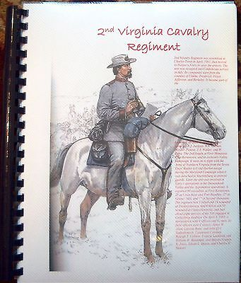 Civil War History of the 2nd Virginia Cavalry Regiment