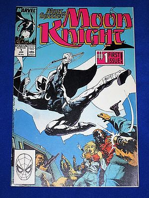 MARC SPECTOR: MOON KNIGHT Issue #1 [Marvel 1989] VG/NM Or Better