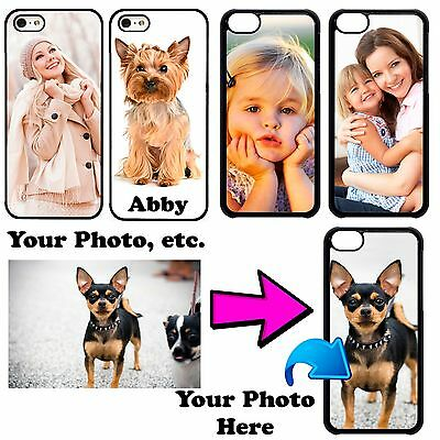 Customize Photo Picture Phone Cover Case Fits iPhone Xs MAX X 8 7Plus 6S 5 iPod