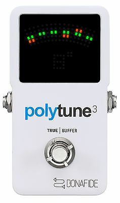 TC Electronic Polytune 3 Tuner Stomp Box Effects Pedal