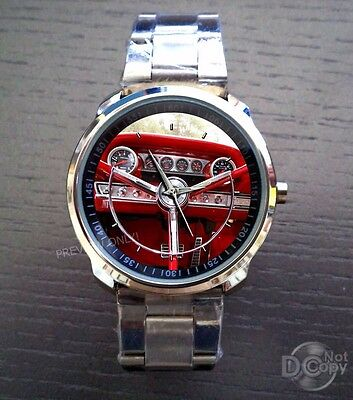 1964-Ford-Galaxie 500 XL Steering Wheel Watches
