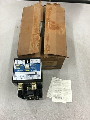 New In Box Square D Ac Mech. Latch Relay 8501 Lo-40-Ll Series A