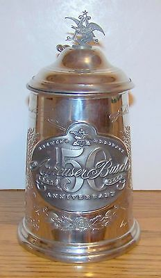 2002 Anheuser-Busch 150Th Anniversary Commemorative Stein  - Free Shipping