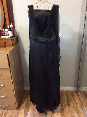 Intangibles 2 Piece Evening Dress Size 18