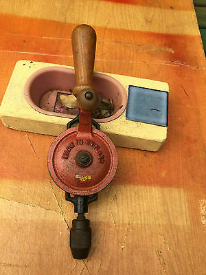 1.-,hand Crank Drill .-Made In England