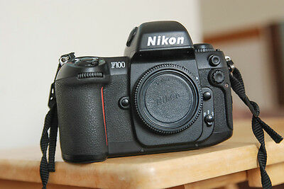Nikon F100 camera body only with new batteries