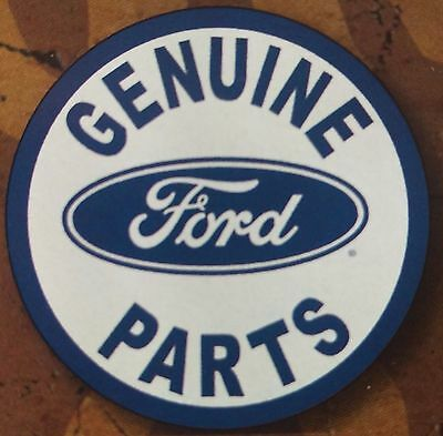 """Ford - Genuine Parts"" Tin Sign Decor Wall Bar Man Cave Garage Rustic Den 791"