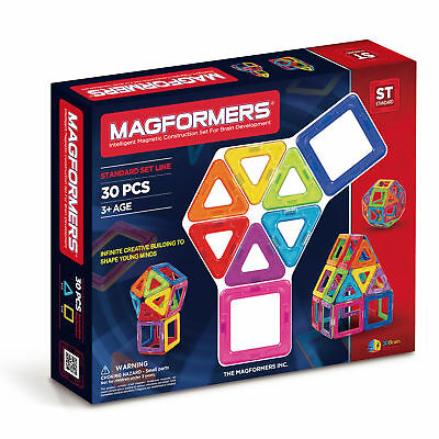 Magformers 30 Magnetic Toy Set - Educational Toys