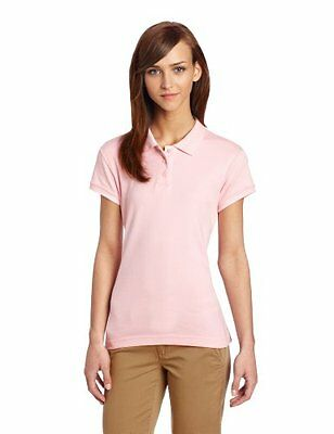 CLASSROOM Juniors Short Sleeve Fitted Polo Pink Small