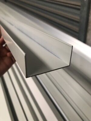 50 X 25 C channel Powder Coated Aluminium Extrusions For Coolroom 5.8m