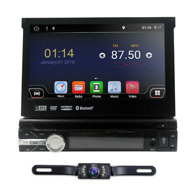 GPS Android 8.1 Single 1 DIN 7 inch Auto Car Stereo Central Multimidia Player