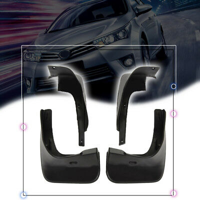 1set Mud Splash Flap Guard Fender For Toyota Corolla 4Dr Mudguards 2009 - 2013
