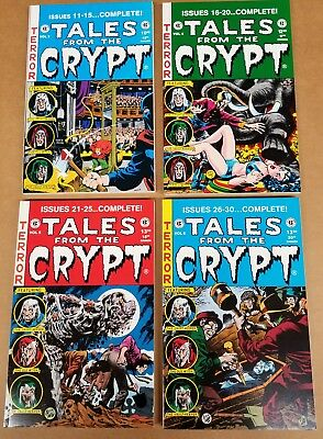 EC Annuals Tales from the Crypt Vol. 3-6