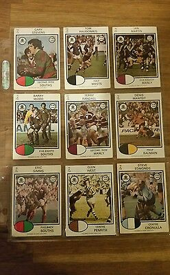 45 Mix Rugby league cards