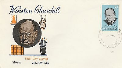 1965 FDC  Winston Churchill  Unaddressed