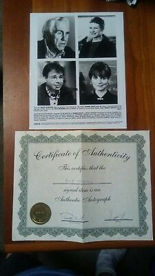 Parenthood movie 8x10 autograph signed by Rick Moranis, with coa