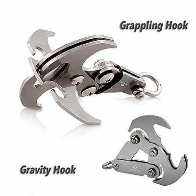 Gravity Hook - A High Performance Grappling Hook Multifunctional Stainless St...