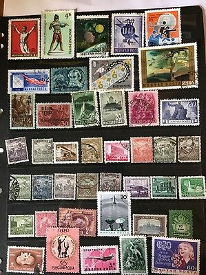stamps  Hungary - Used  - Lot 290