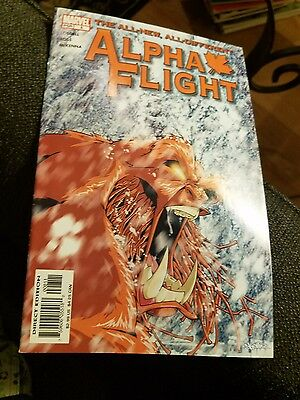 Marvel Comic Book Alpha Flight No.8 Dec 2004