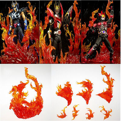 Anime Star Soul Effect Burning Flame Red For Bandai Tamashii Saint Seiya Gundam