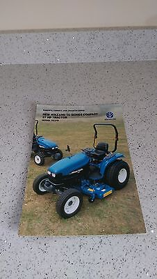 Ford New Holland TC27D tractor brochure