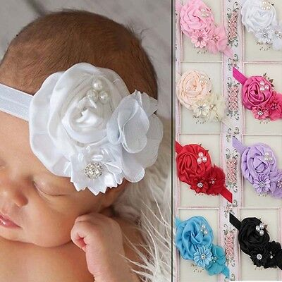 1 Pcs Pretty Flower Headband Hair Band Accessories Headwear Gift For Baby Girls