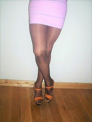 collant couleur chocolat taille 4
