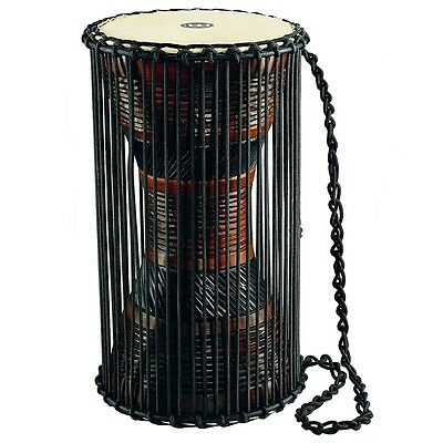 """Meinl Percussion ATD-L Wood African Talking / Ritual Drum, Large 8""""  x 16"""""""